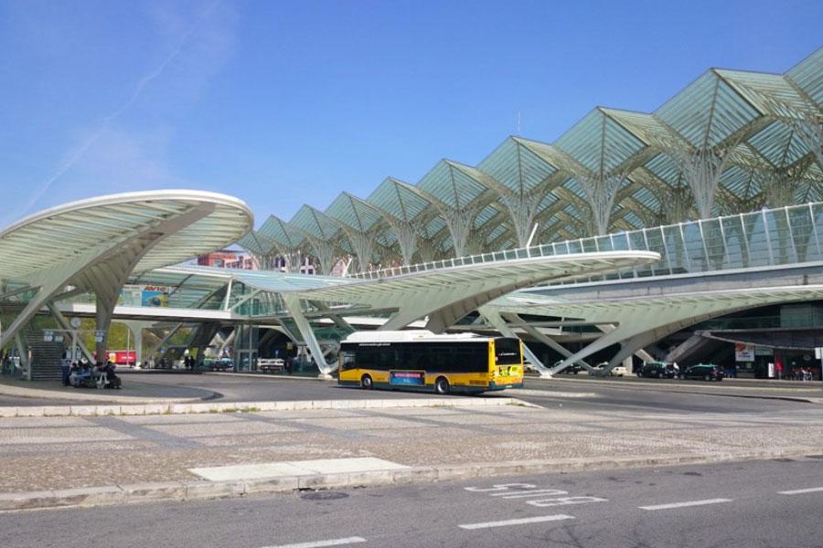 Ônibus Estação Oriente Lisboa