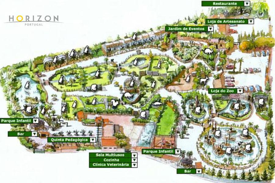 Mapa Zoológico de Lagos