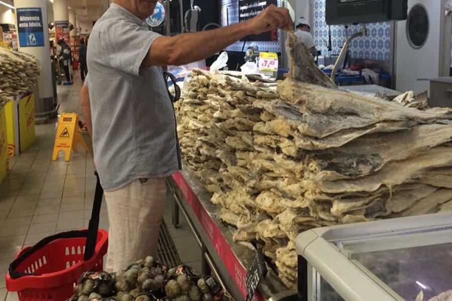 comprar bacalhau